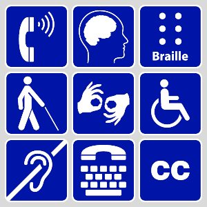 Americans with Disabilities Act graphic